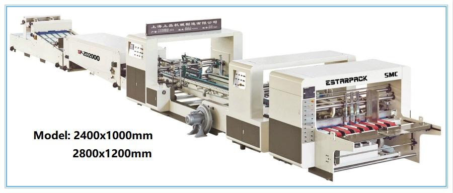 SP-ZD Automatic High Speed Folder Gluer Machine